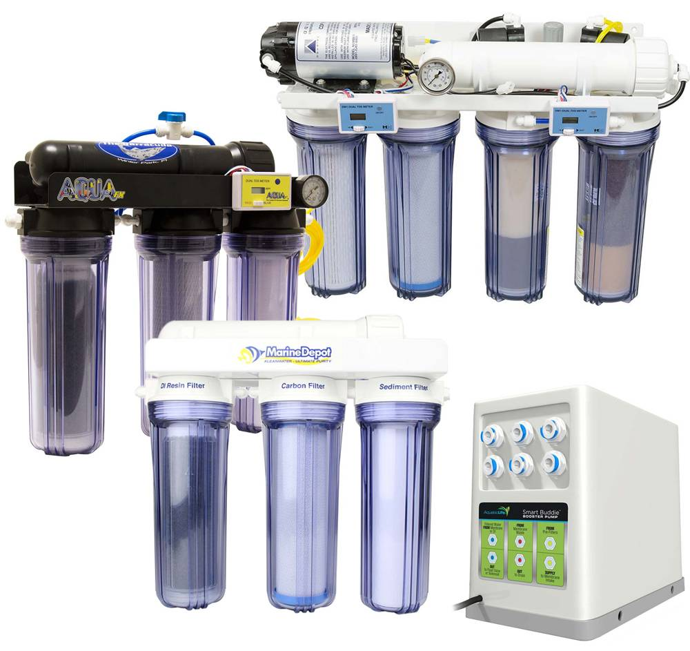 Reverse osmosis systems to help purify water