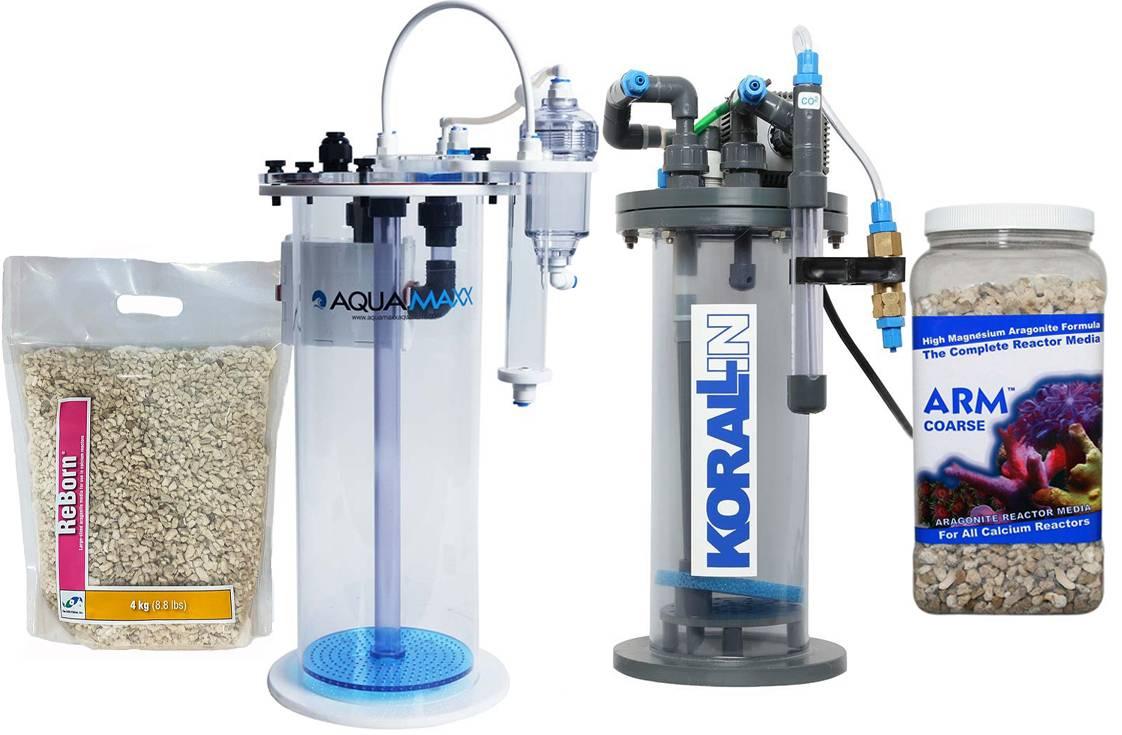 Calcium reactors and media examples