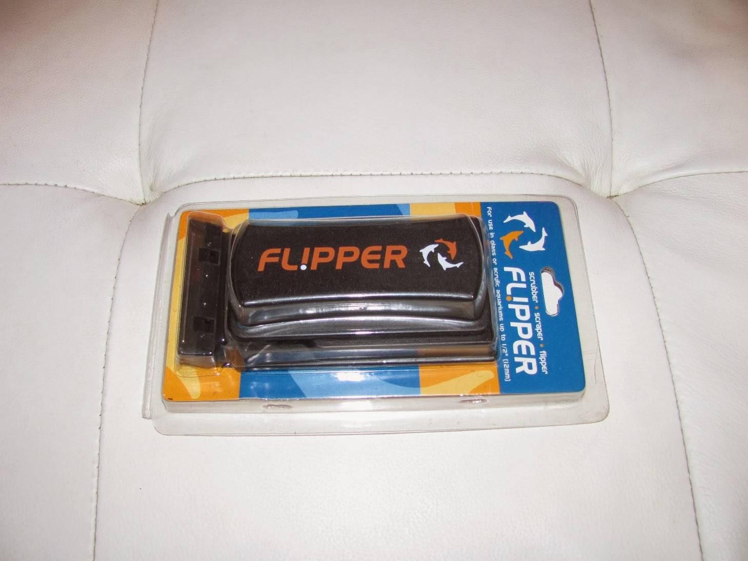 Flipper algae scraper in package