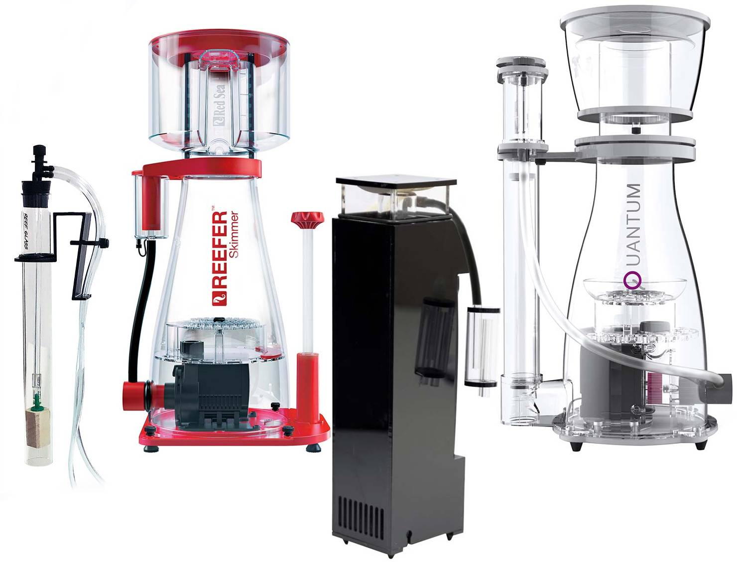 Different models and styles of In-Sump types of Protein Skimmers