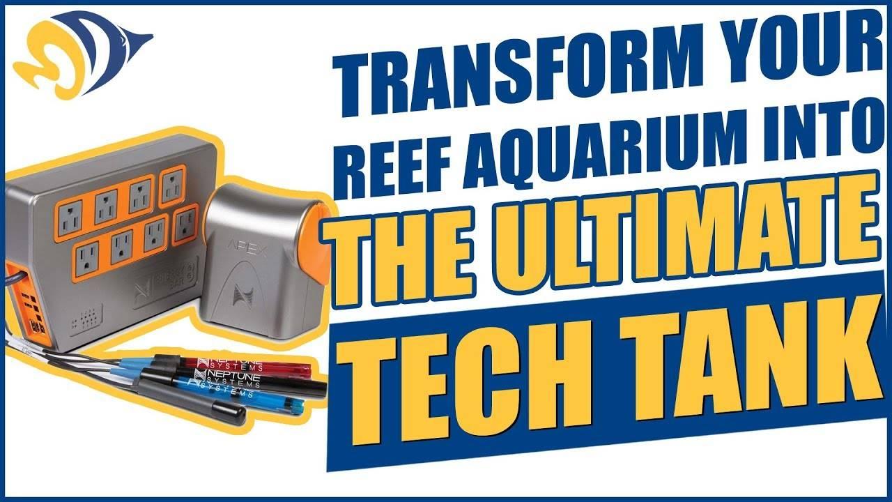 Transform your reef aquarium into THE ULTIMATE TECH TANK