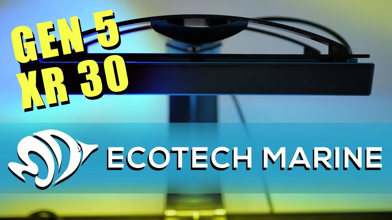 Ecotech Radion Gen5 XR15 and XR30 LED Aquarium Lights: The New Blue and Pro