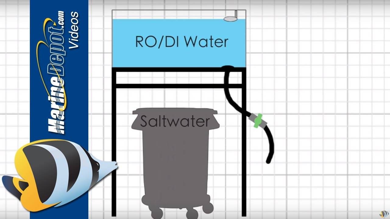 How to Build a Saltwater Mixing Station