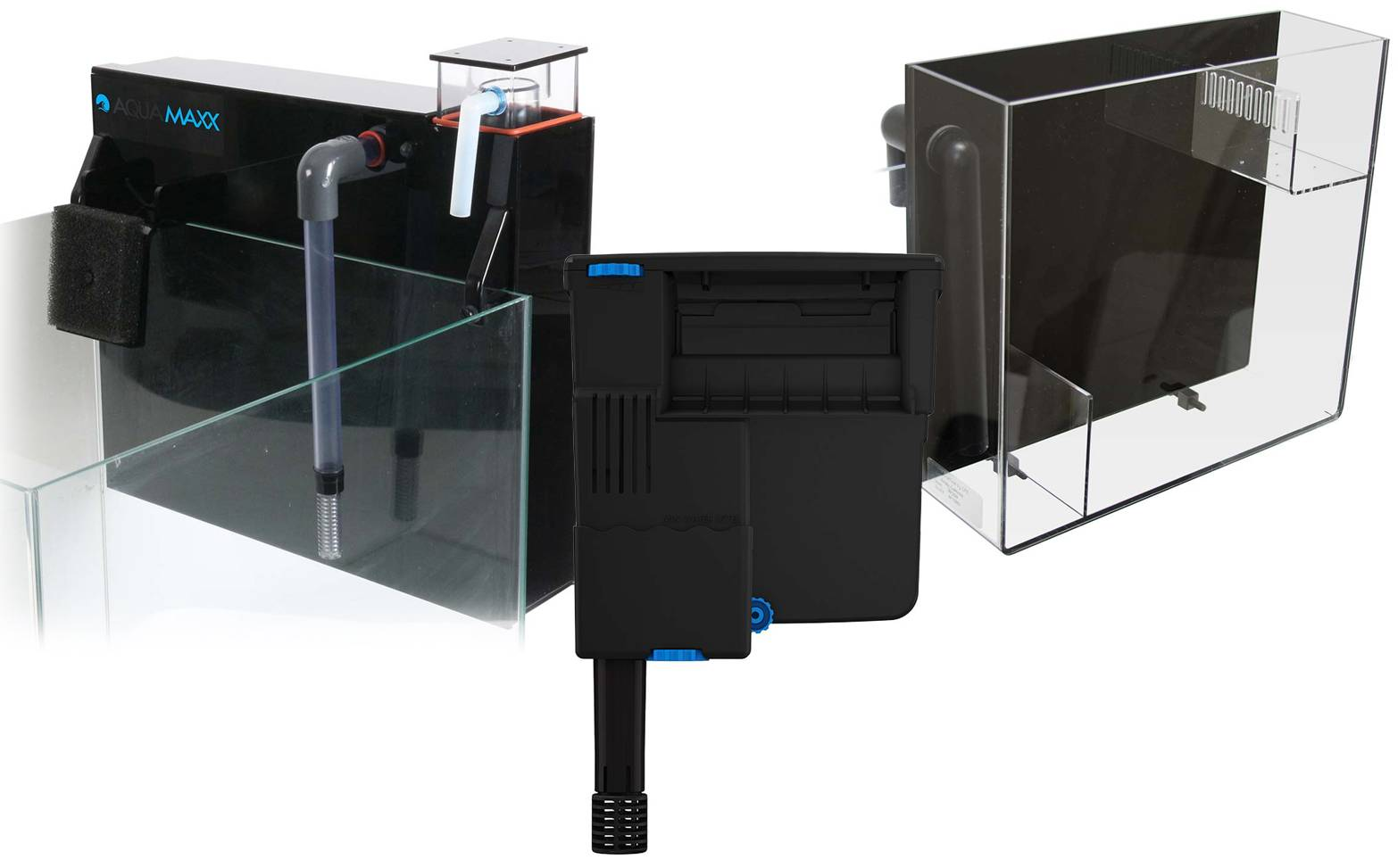 hang on filtration options from a multifilter, power filter and hang on refugium