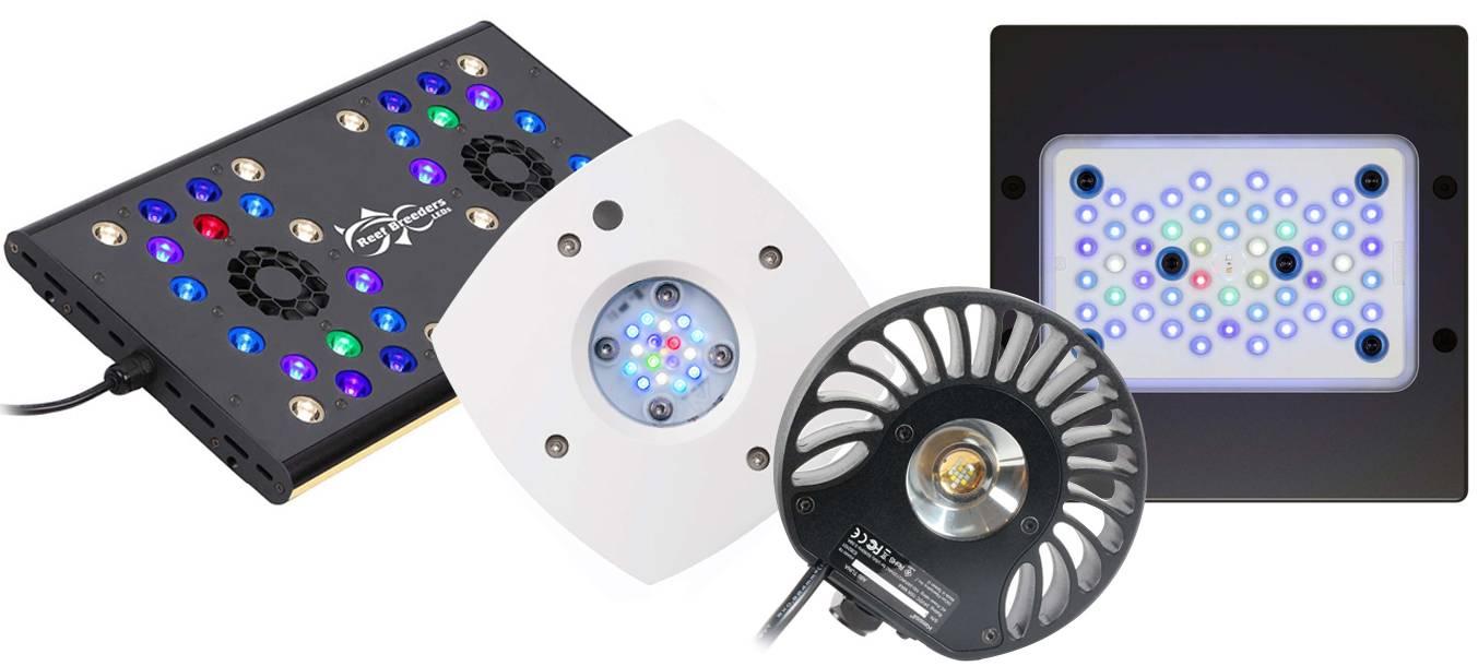 Nano tank LED lighting options