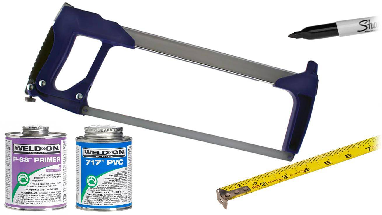 tools to have that help assemble pvc