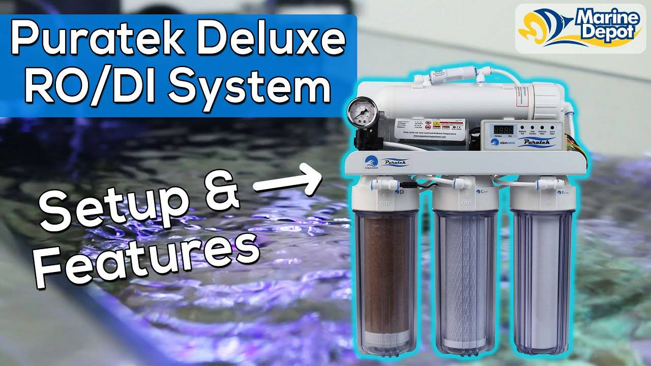 The Puratek Deluxe RO/DI Filter For Your Reef Tank | More Features For Less $$$
