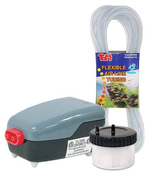 Tom Aquatics Aqua-Lifter Dosing Pump Suction Pre-Filter & 25 Feet of Flexible Air Line Tubing
