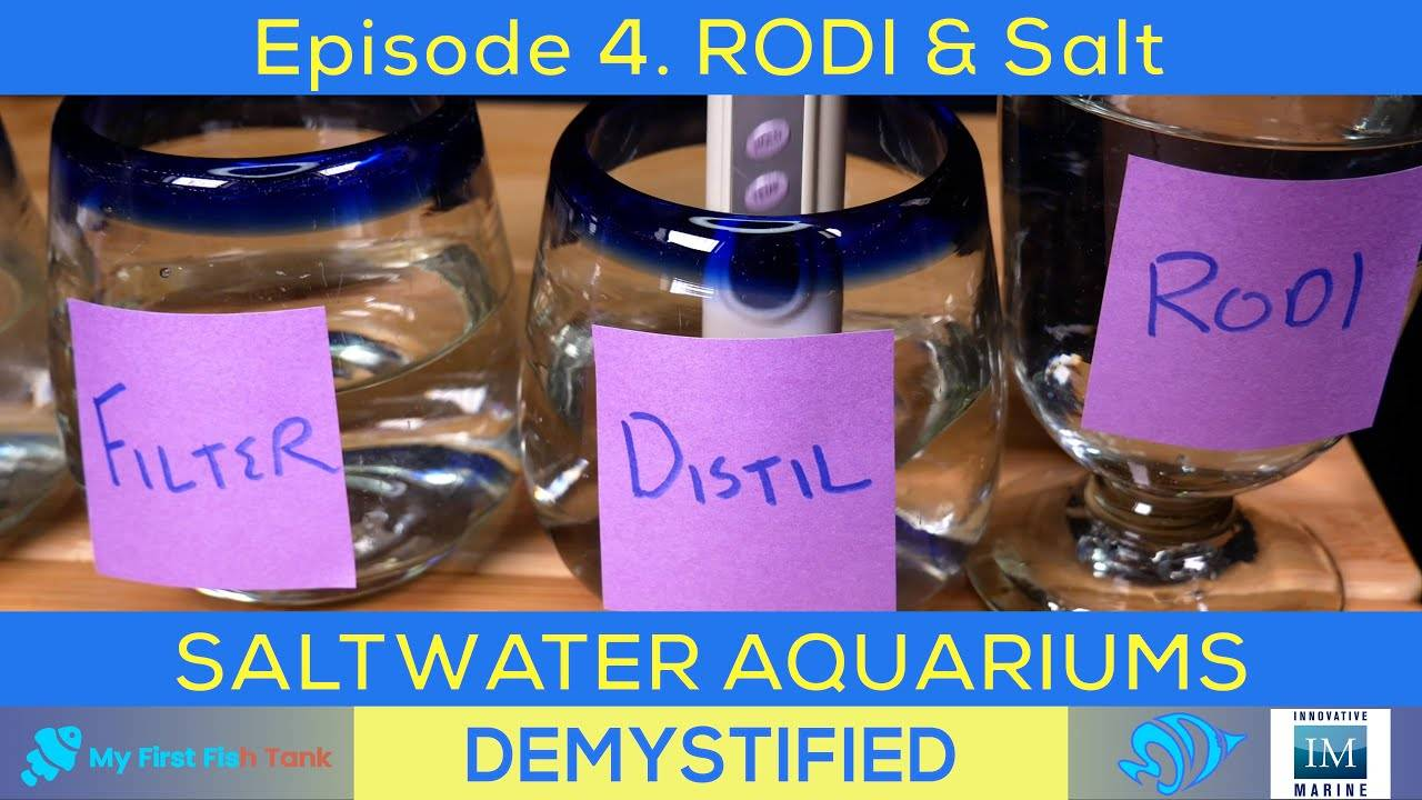 Saltwater Aquariums Demystified Ep. 4: Making Water with RODI and Salt