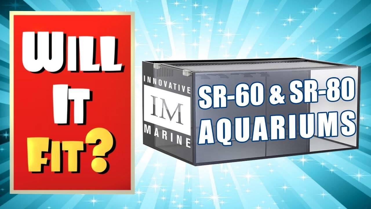 Will It Fit? - Innovative Marine SR-60 and SR-80 Shallow Reef Aquariums