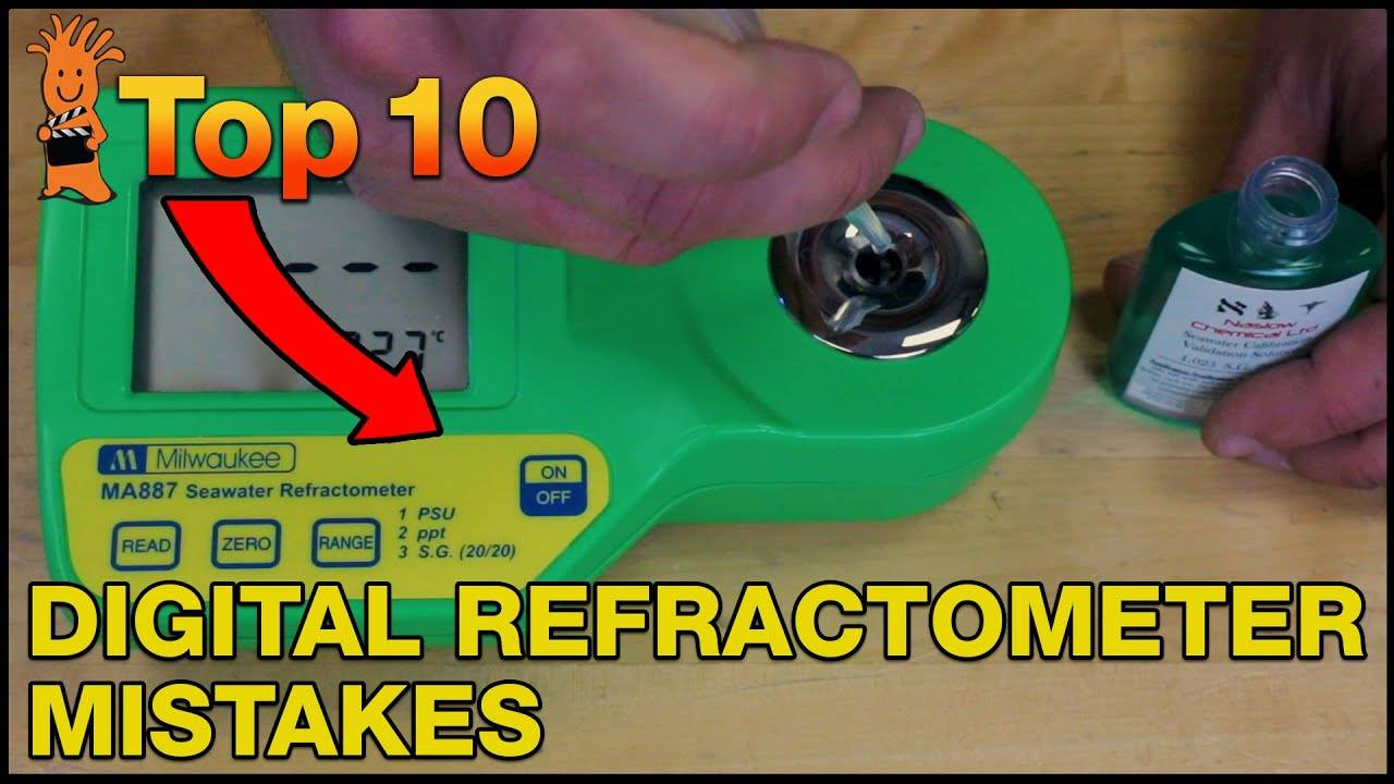 Top Mistakes Milwaukee Digital Refractometer