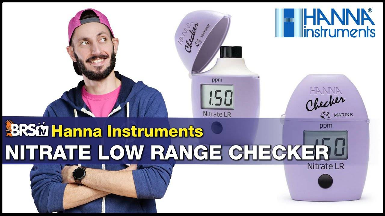 BRStv Product Spotlight - Hanna Instruments Nitrate Checker Colorimeter