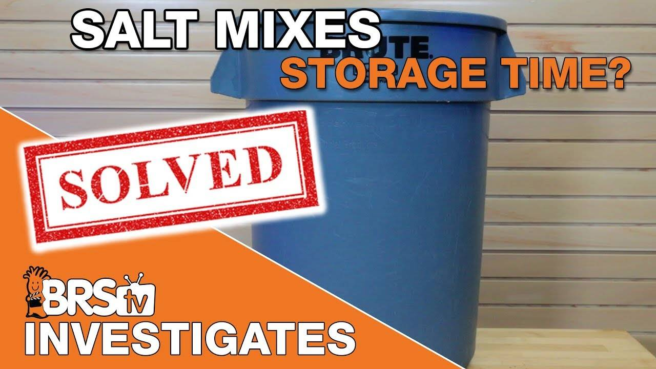 How long can I store saltwater after mixing? | BRStv Investigates