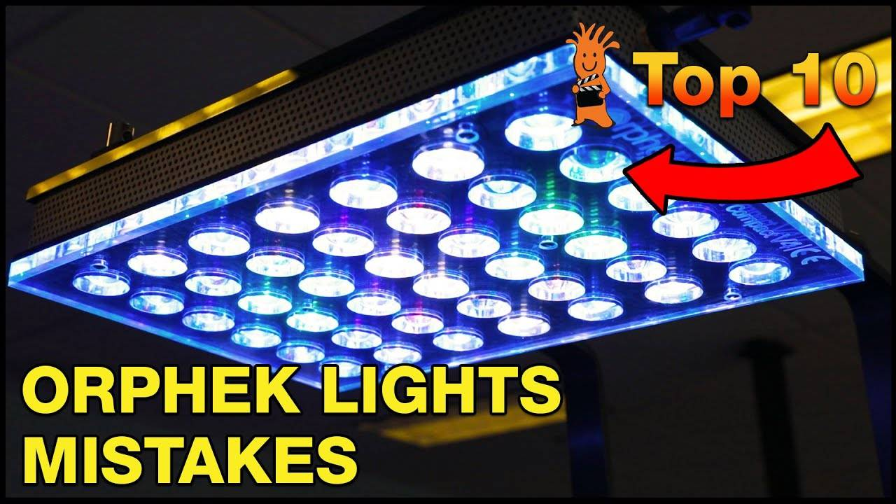 Top Orphek Atlantik V4 LED Lights Mistakes