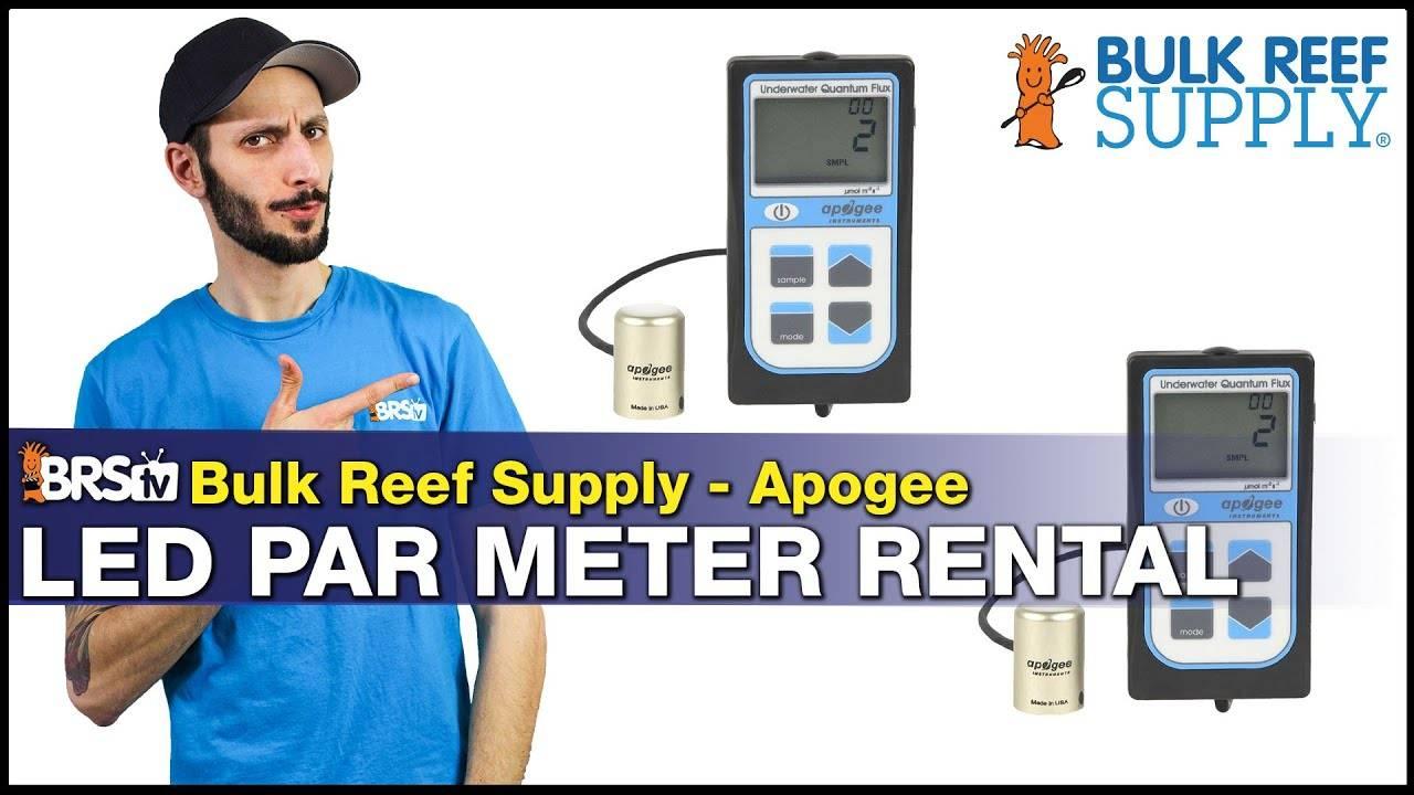 BRstv Product Spotlight Apogee PAR Meter Rentals
