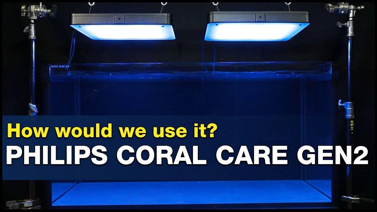 BRStv Investigates Philips Coral Care Gen2 Reef LED Light