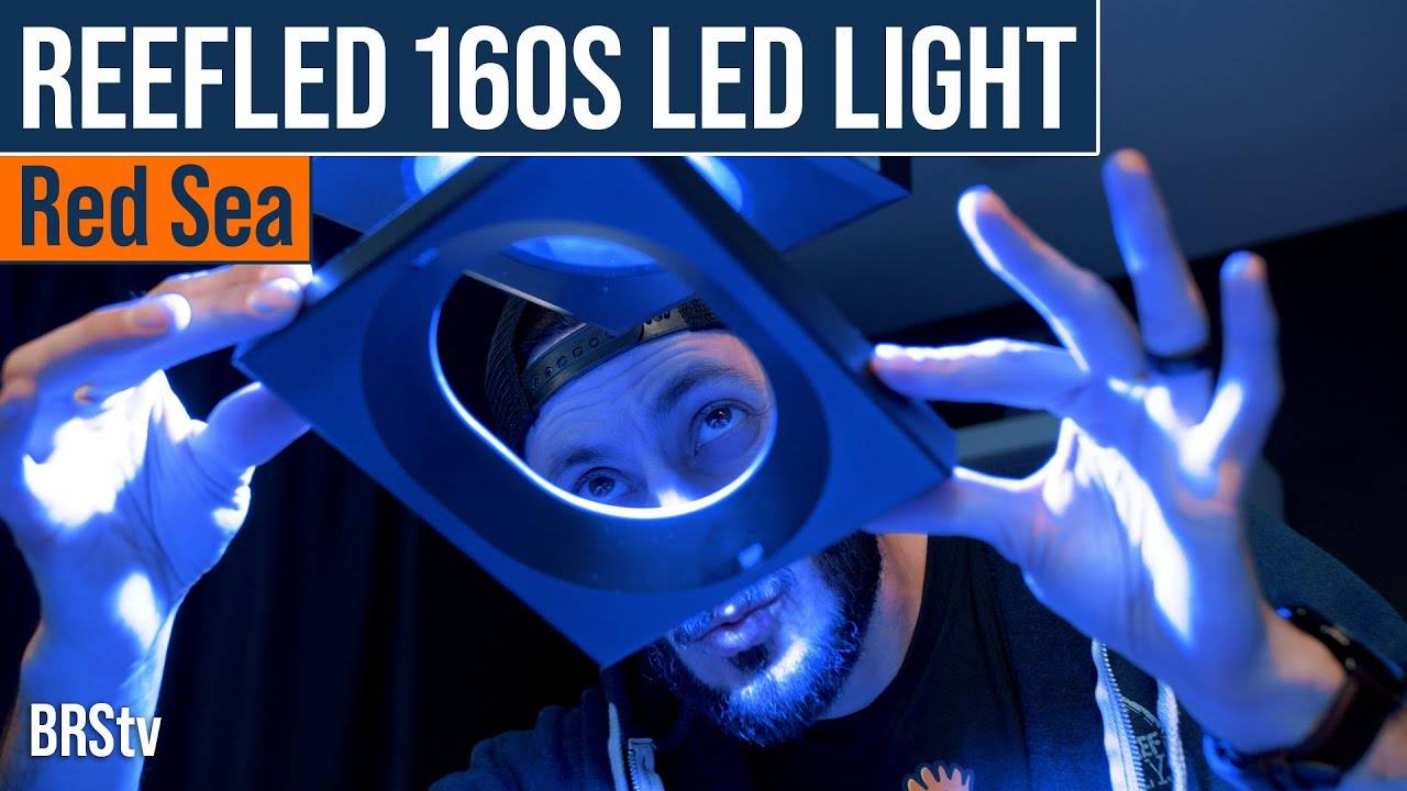 Simple Reef Tank Lighting, Easy to Use Power! Red Sea ReefLED 160s