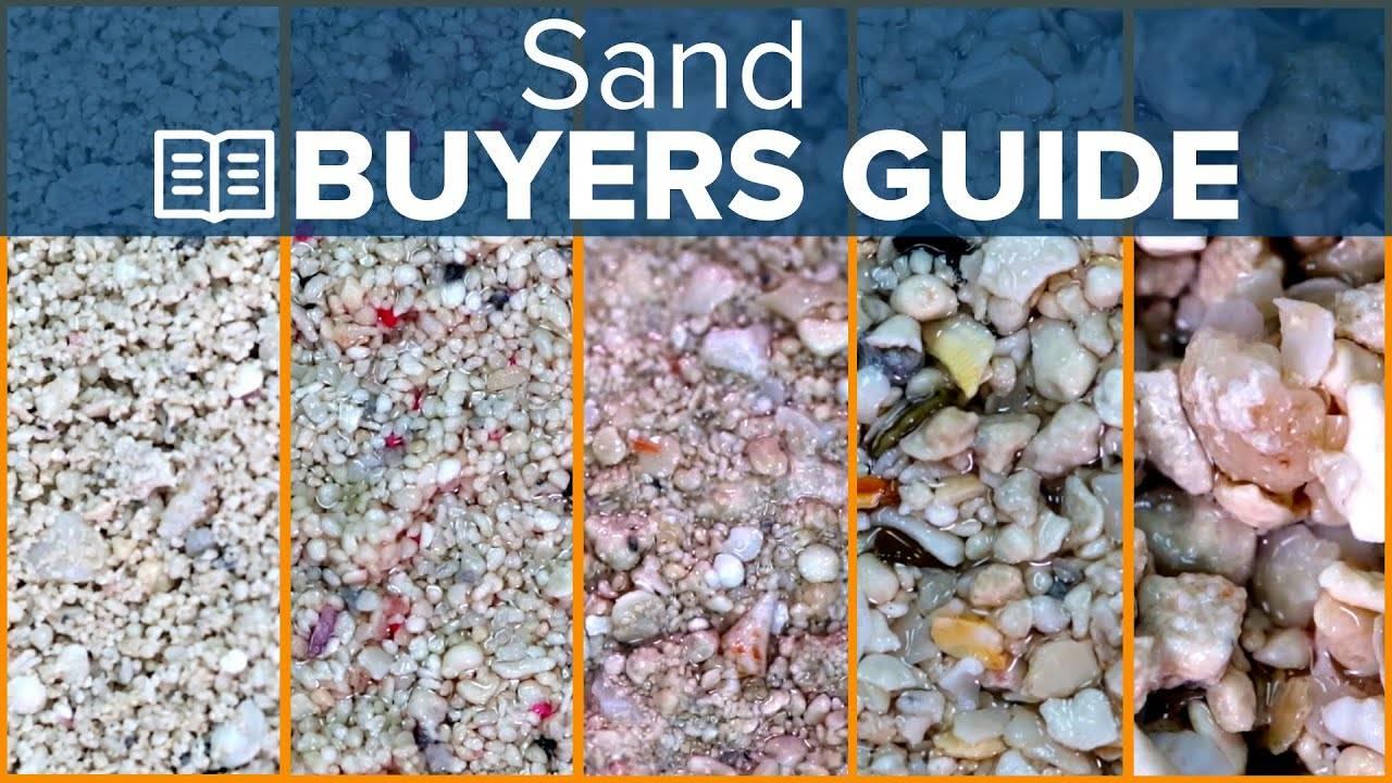 Watch Video - BRStv Buyer's Guide - Aquarium Sand