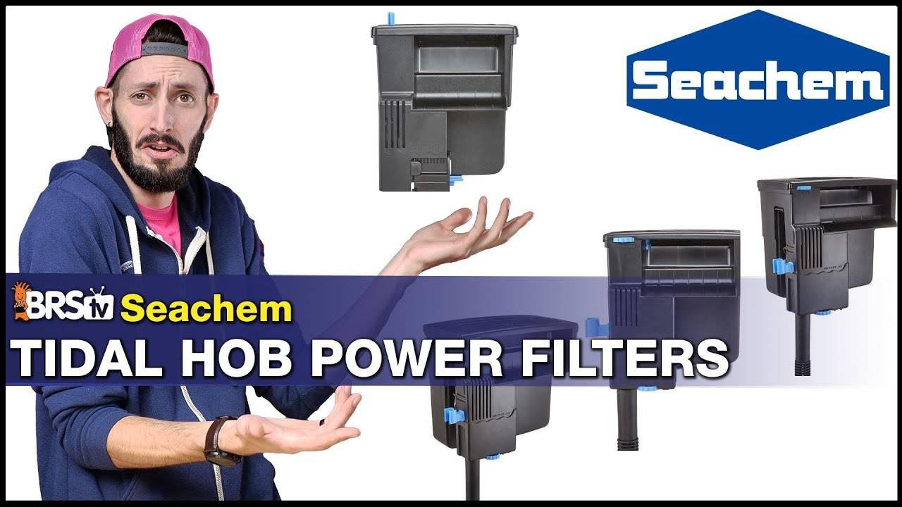 BRStv Product Spotlight - Seachem Tidal HOB Power Filter