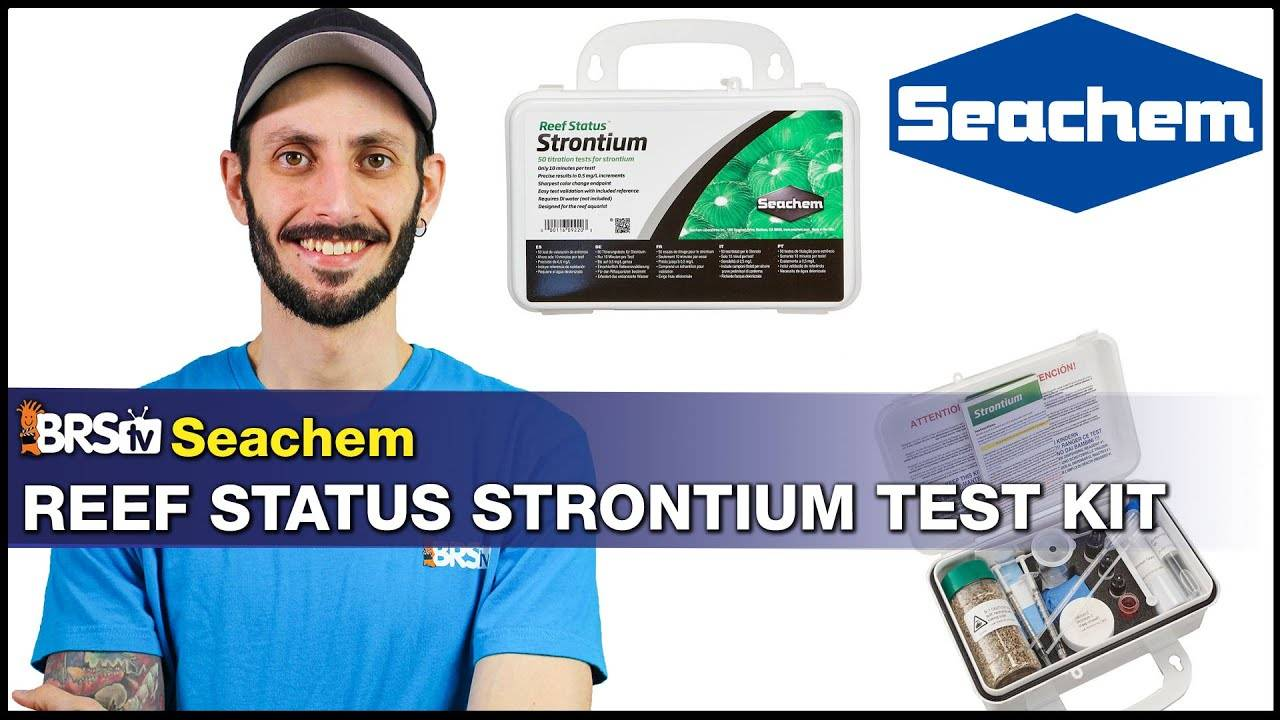 BRStv Product Spotlight - Seachem Reef Status Strontium Test Kit