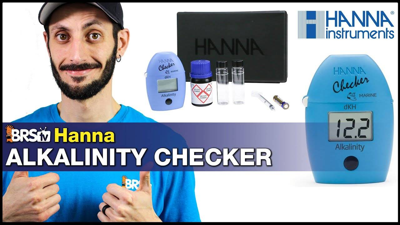 BRStv Product Spotlight - Hanna Instruments Alkalinity Checker Colorimeter
