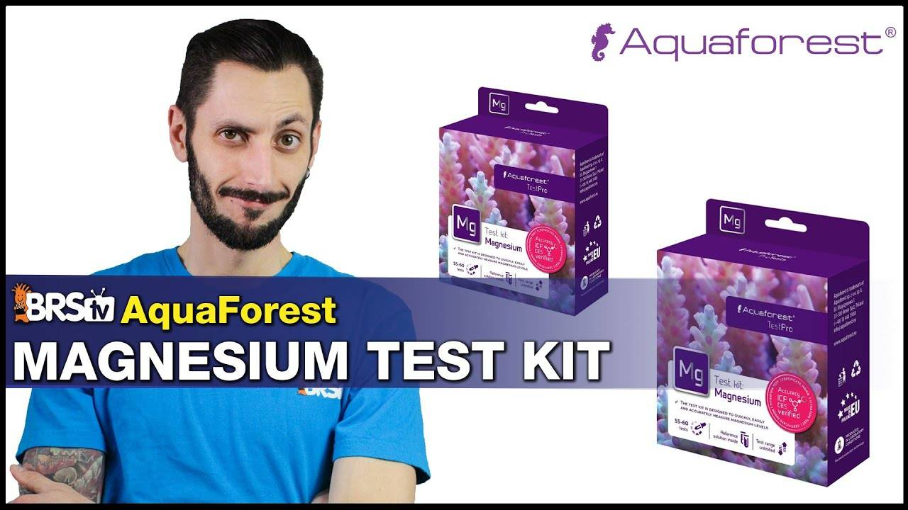 BRStv Product Spotlight AquaForest Magnesium Test Kit