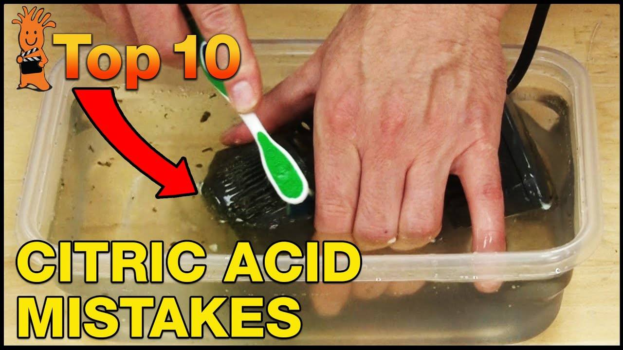 Top 10 Makes Using BRS Bulk Citric Acid