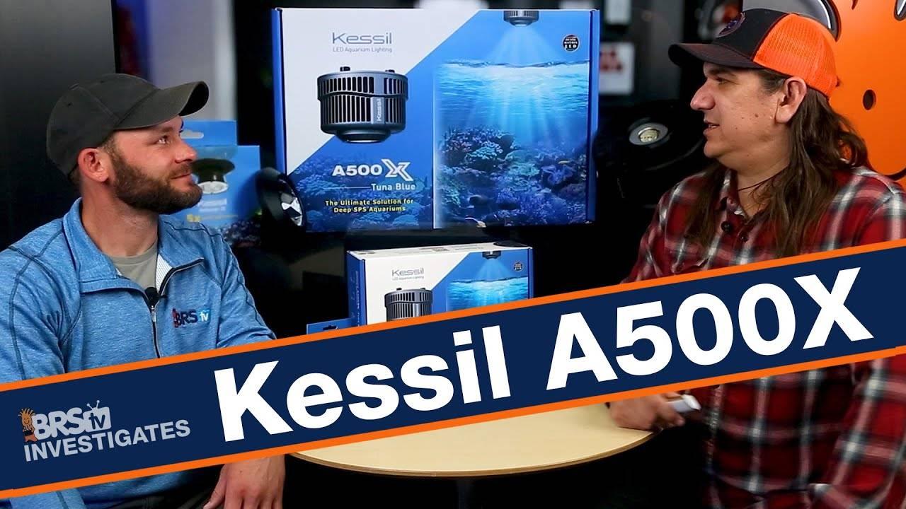 BRStv Investigates Kessil A500X LED Light