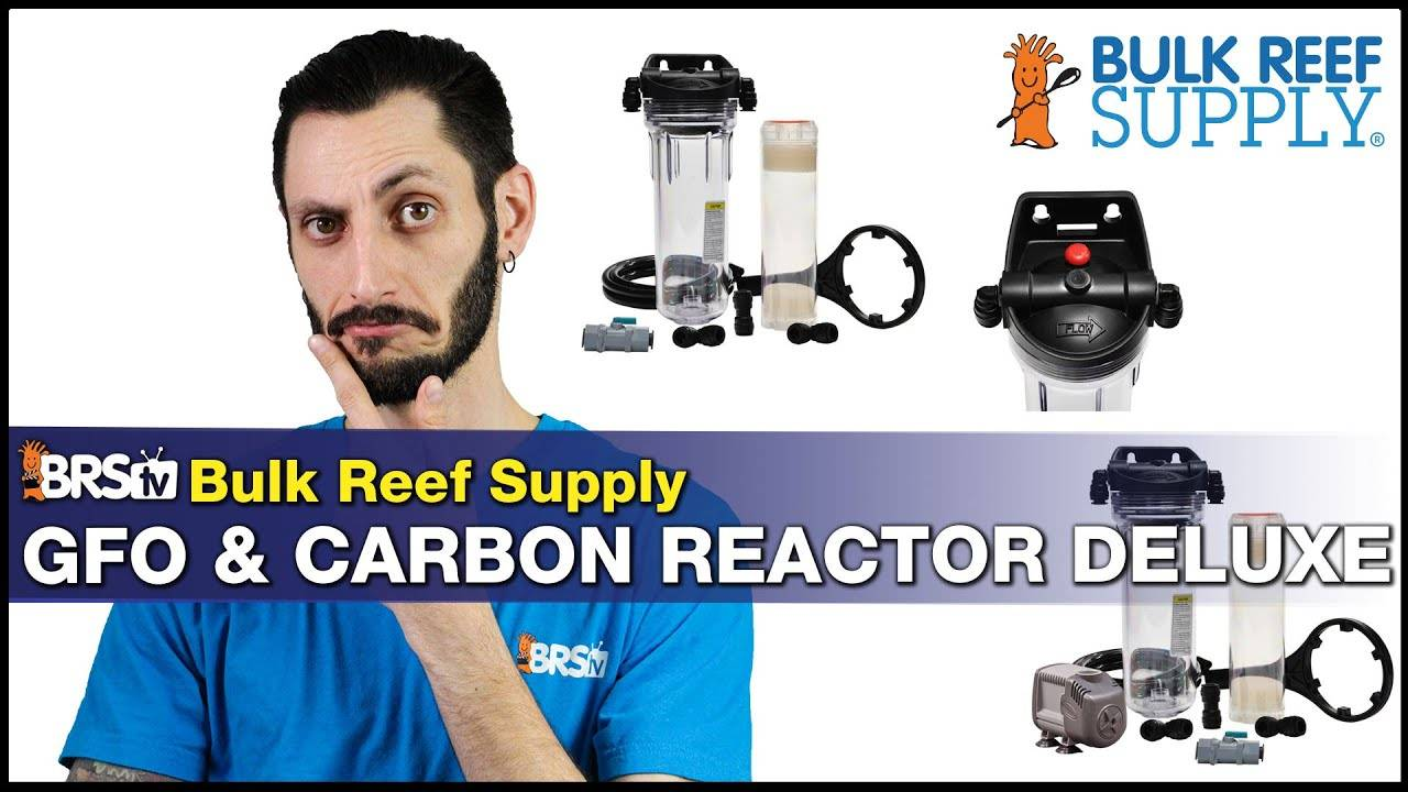 BRStv Product Spotlight - GFO and Carbon Filter Media Reactor Deluxe