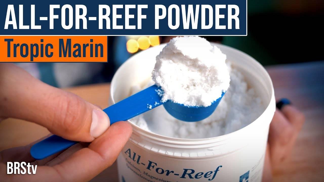 BRStv Product Spotlight - Tropic Marin All-For-Reef Powder Additive