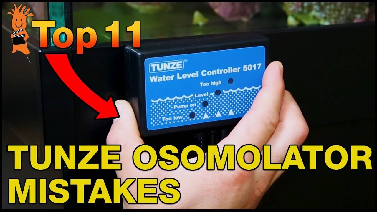 Top Mistake Tunze Osmolator 3155
