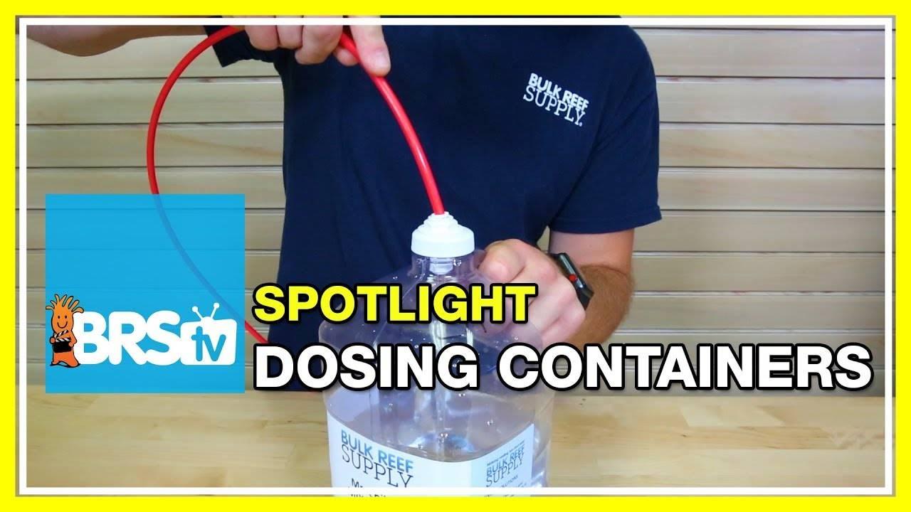 DIY Dosing Containers - BRStv