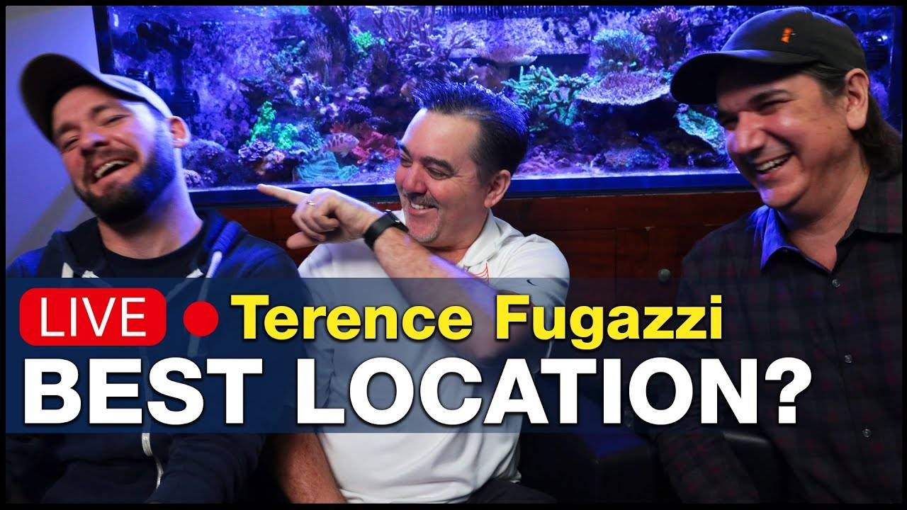 Ep5.1 - Talking reef tank placement challenges w/ Terence Fugazzi from Neptune Systems   BRS360