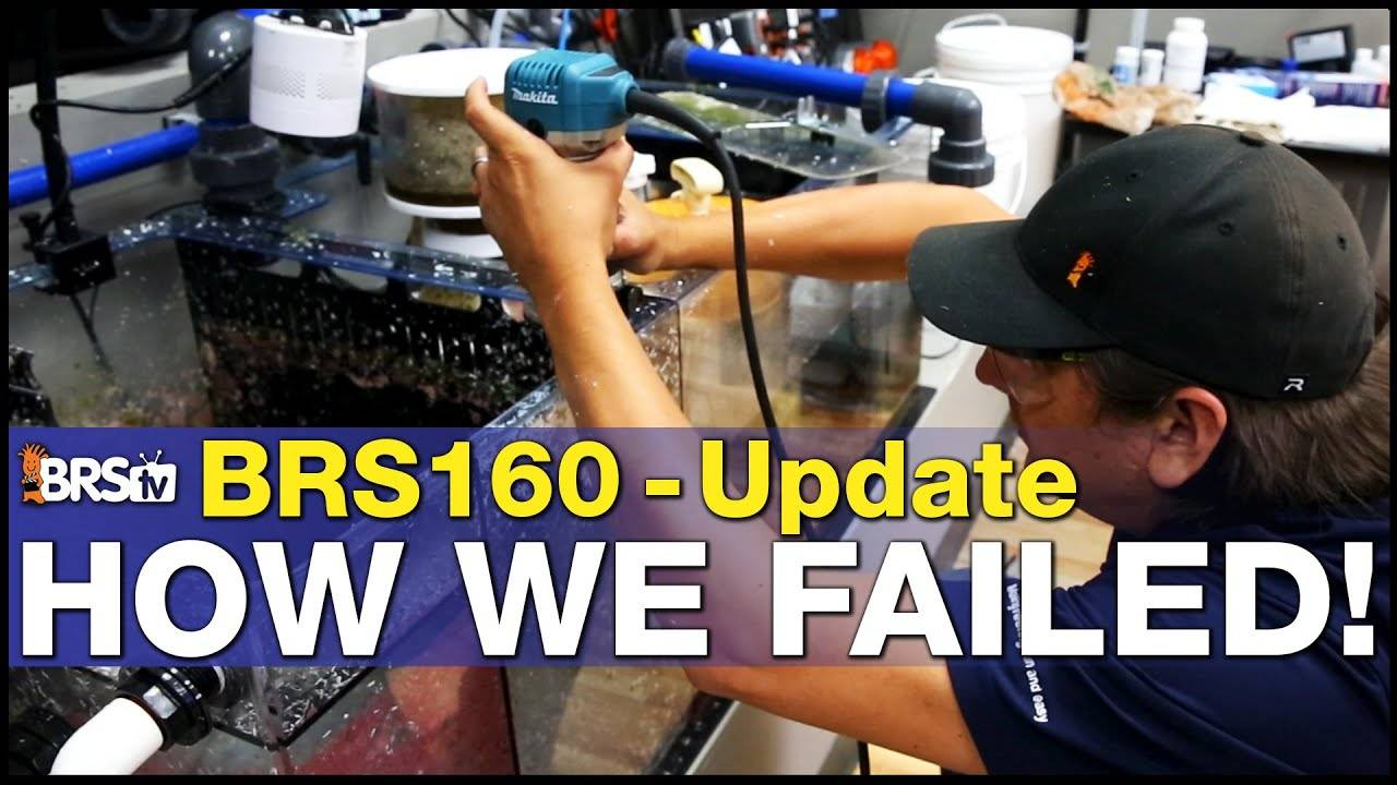 How Did the BRS160 Survive Our Mistakes?! Lessons Learned from Our Failures.