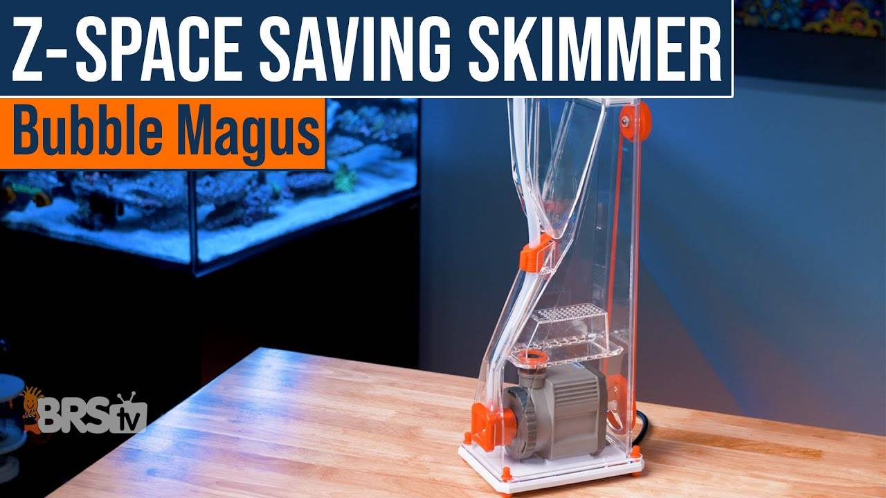 Bubble Magus Z-Series Protein Skimmer Video