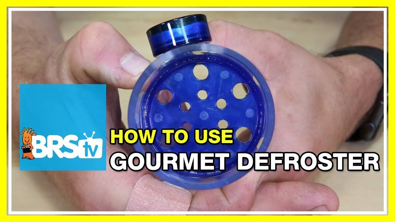 Is The Gourmet Defroster Required for Feeding Fish? - BRStv How-To