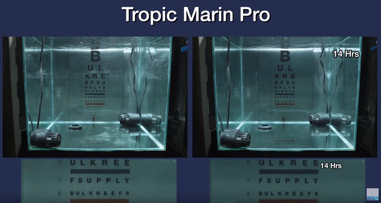 Saltwater Clarity Chart Tropic Marine Pro