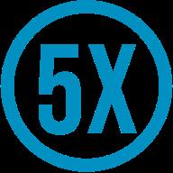5x Icon